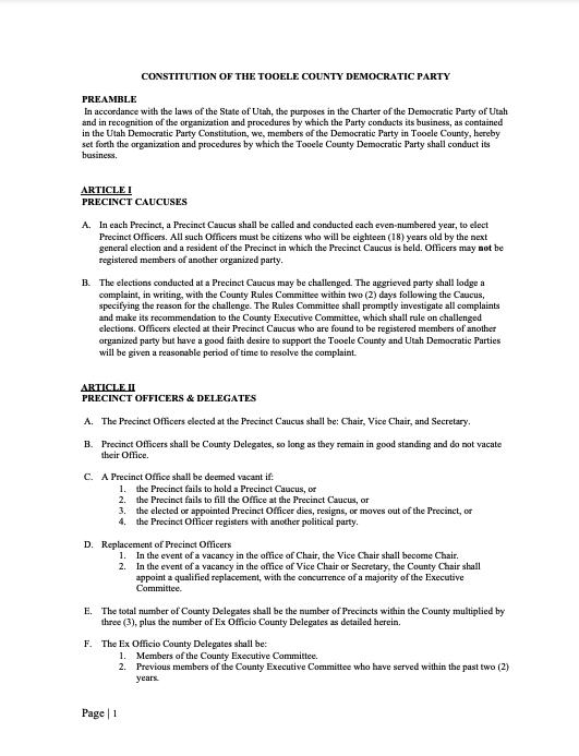 TCDP 2018 Constitution